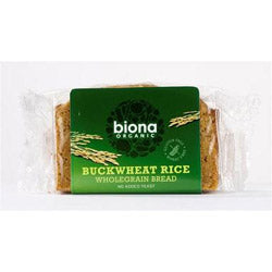 10% OFF Organic Rice/Buckwheat Seed Bread 250g