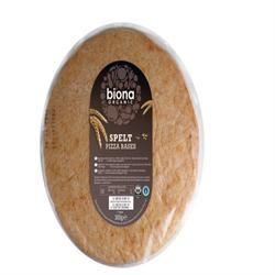 Organic Pizza Bases Spelt Flour 300g (order in singles or 10 for trade outer)