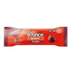 Bounce Breakfast Red Berry High Fibre Protein Bar (order in multiples of 5 or 20 for retail outer)