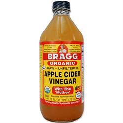 Bragg Organic Apple Cider Vinegar - 473ml (order in singles or 12 for trade outer)