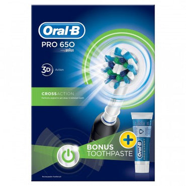 BRAUN Toothbrush | Pro 650 | Oral B | Rechargeable