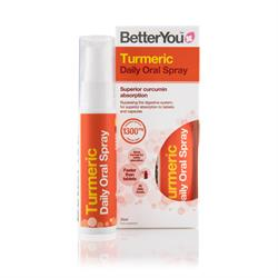 BetterYou Turmeric Daily Oral Spray 25ml (order in singles or 6 for retail outer)