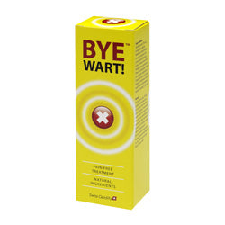 Bye Wart! 15ml (order in singles or 12 for trade outer)