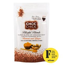 Blissful Blends Turmeric & Ginger Super Cacao 100g (order in singles or 10 for trade outer)