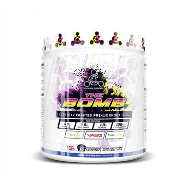 Chemical Warfare The Bomb Pre-Workout 480g / Blue Raspberry