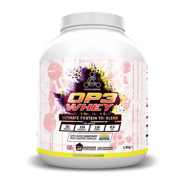 Chemical Warfare OP3 Whey Protein Tri Complex  1.8kg / Banana Waffle