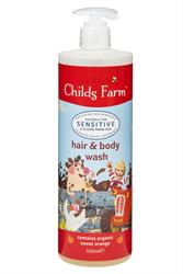 Hair & Body Wash Organic Sweet Orange 500ml (order in singles or 4 for trade outer)