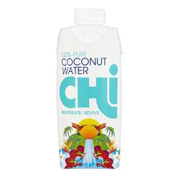 100% Pure Coconut Water 330ml (order in singles or 12 for trade outer)