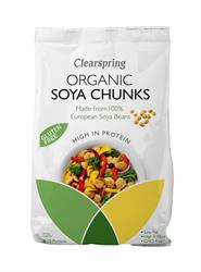 Organic Soya Chunks 200g (order in singles or 12 for trade outer)
