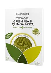Org GF Green Pea & Quinoa Pasta 250g (order in singles or 8 for trade outer)
