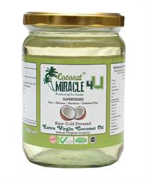 100% RAW Extra Virgin Coconut Oil 184g (order in singles or 12 for trade outer)