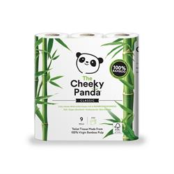 100% Bamboo Toilet Tissue 9 Pack (order in singles or 5 for trade outer)