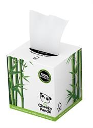 100% Bamboo Facial Tissue Cube 3ply 56 Sheets (order in singles or 12 for trade outer)