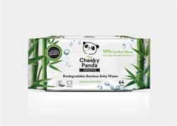 Biodegradable Bamboo Baby Wipes with 99% Purified Water (order in singles or 24 for trade outer)