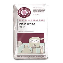 Gluten Free Plain White Flour 1kg (order 5 for trade outer)