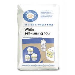 Gluten Free Self Raising White Flour 1kg (order 5 for trade outer)