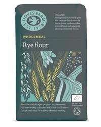 Organic Wholemeal Rye Flour 1kg (order 5 for trade outer)