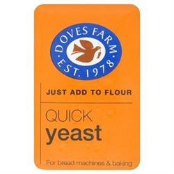 Quick Yeast 125g (order in singles or 16 for trade outer)