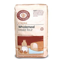 Organic Strong Wholemeal Bread Flour 1.5kg (order 5 for trade outer)