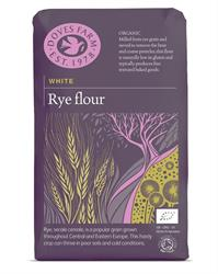 White Rye Flour Organic 1kg (order 5 for trade outer)