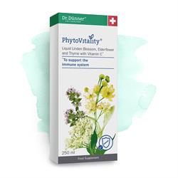 PhytoVitality Liquid Linden Blossom, Elderflower Thyme 250ml