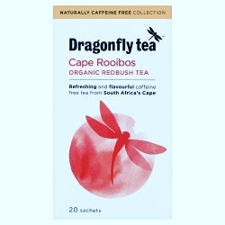 10% OFF Organic Cape Rooibos Tea 20 sachets (order in singles or 4 for trade outer)