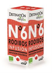 10% OFF Org Teabags Dailytea Rooibos 20 Sachets (order in multiples of 2 or 12 for trade outer)