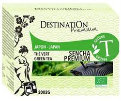 10% OFF Organic Tea Bags Japan Sencha Green tea 20 Sachets (order in multiples of 2 or 12 for trade outer)