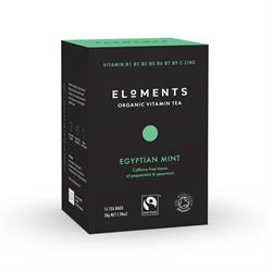 10% OFF Eloments Bourbon Vanilla Organic Vitamin Tea 14 Tea Bags (order in singles or 4 for retail outer)