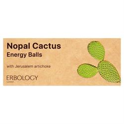 20% OFF Organic Nopal Cactus Energy Balls 40g (order in multiples of 2 or 24 for retail outer)