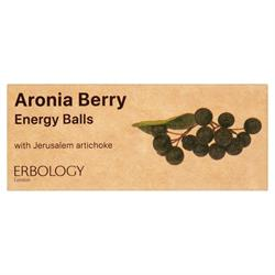 20% OFF Organic Aronia Berry Energy Balls 40g (order in multiples of 2 or 24 for retail outer)
