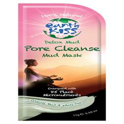 Detox, Pore cleanse Mud face mask from Earth Kiss 17g (order 12 for retail outer)