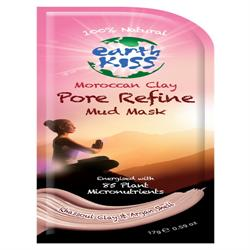 Moroccan Clay Pore Refine Mud face Mask, 21g, (order 12 for retail outer)