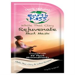White Thai Clay Rejuvenate Mud face Mask, 17g, (order 12 for retail outer)