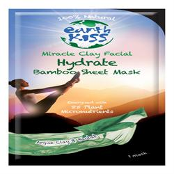 Miracle Clay Hydrate Bamboo sheet face Mask, 20g, (order 12 for retail outer)