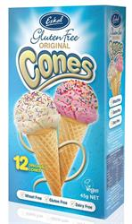 10% OFF Eskal Gluten Free Ice Cream Cones 12 pcs (order in singles or 6 for retail outer)