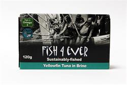 Yellowfin Tuna Fish in Brine 120g (order in singles or 10 for trade outer)
