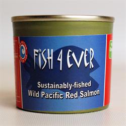 Wild Pacific Red Salmon 213g (order in singles or 12 for trade outer)
