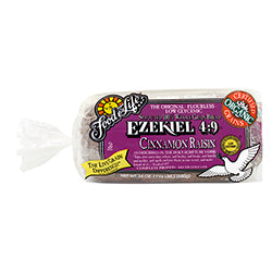 Org Ezekiel 4.9 Cinnamon Raisin Sprouted Wholegrain Bread 680g