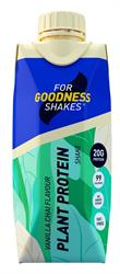 For Goodness Shakes Plant Protein Vanilla Chai 330ml (order in multiples of 2 or 12 for retail outer)