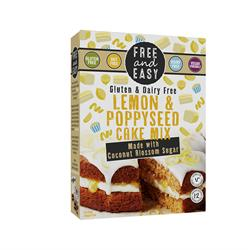 Lemon & Poppyseed Free From cake mix 350g (order 4 for trade outer)