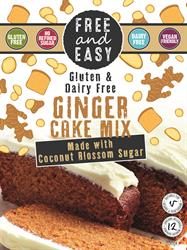 Ginger Cake Mix 350g. free from. (order 4 for trade outer)