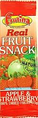 Strawberry & Apple Dried Fruit Bar 15g (24 for a case) (order 24 for retail outer)
