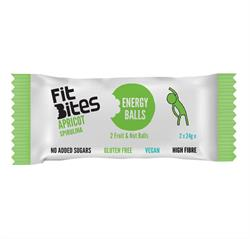 30% OFF FitBites Apricot & Spirulina Energy Balls 48g (order in singles or 16 for retail outer)