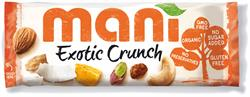 Mani Exotic Crunch Organic 45g (order in multiples of 4 or 16 for retail outer)