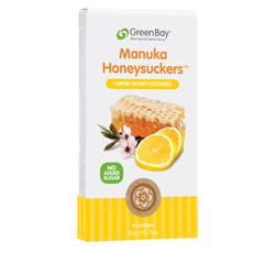 Lemon Manuka Honey Lozenges (8 Lozenges) (order in singles or 12 for retail outer)