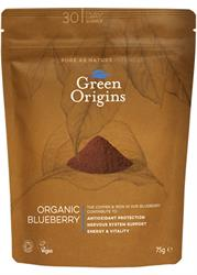 Organic Blueberry Powder (Freeze Dried) 75g