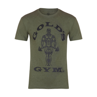 Golds Gym T-Shirt Muscle Joe, S / Army Green