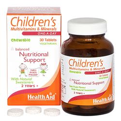 Children's MultiVit + Minerals - 30 Tablets