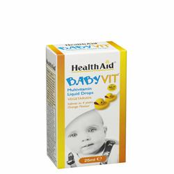 Baby Vit - Orange Flavour (Ages 0 to 4 Years) 25ml